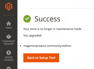 Amazon LightSail Magento 2 Set Up Success
