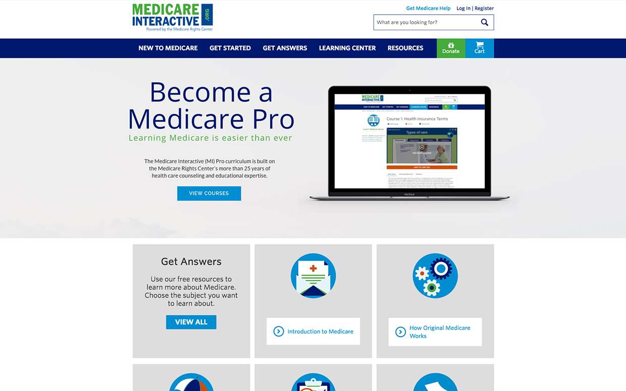 Medicare Interactive Homepage