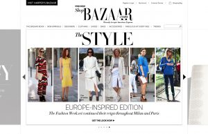 Shop Bazaar Homepage