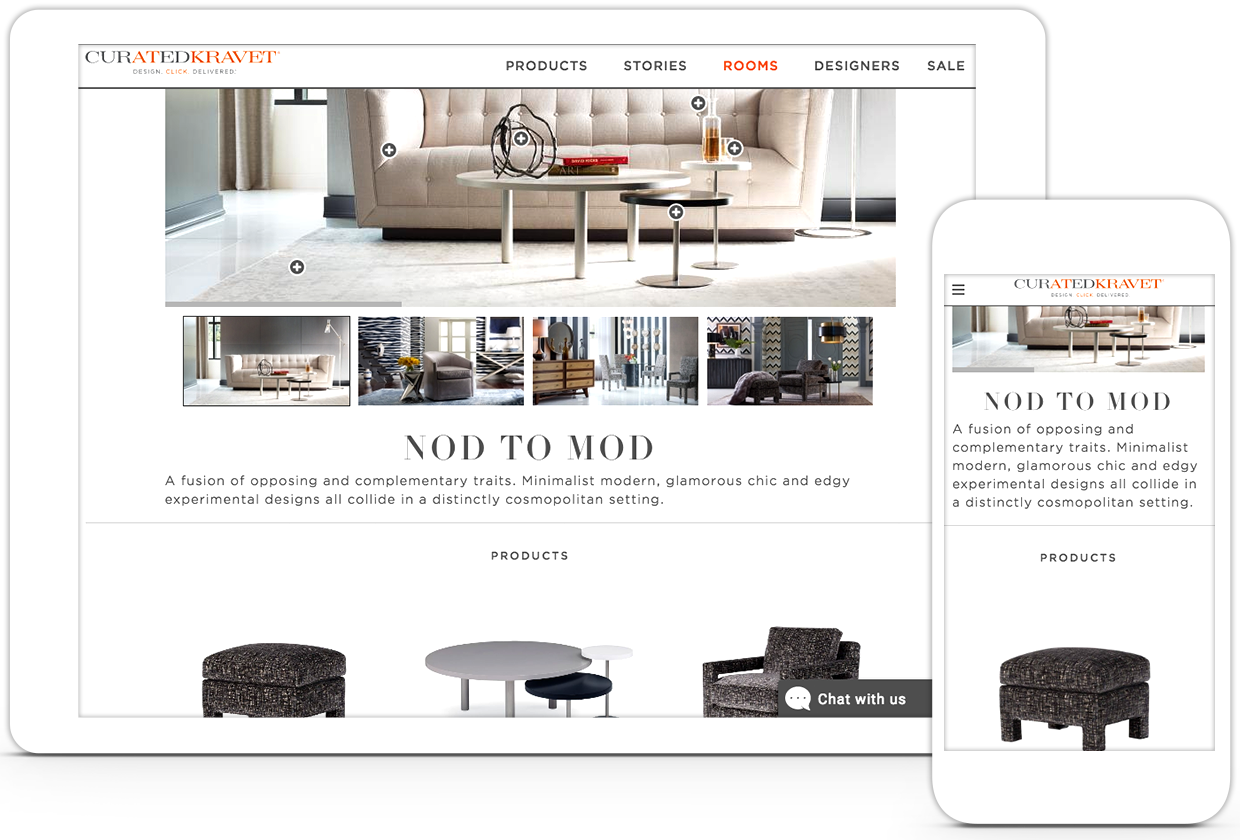 Curated Kravet iPad and iPhone