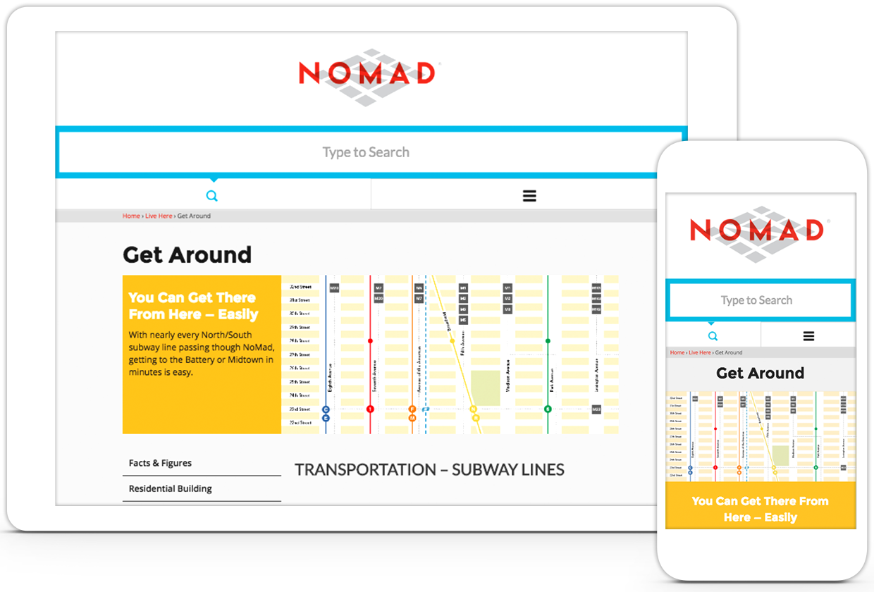Nomad iPad and iPhone