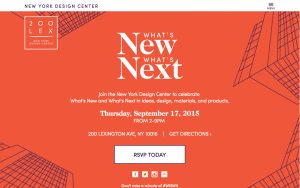 What's New What's Next Homepage