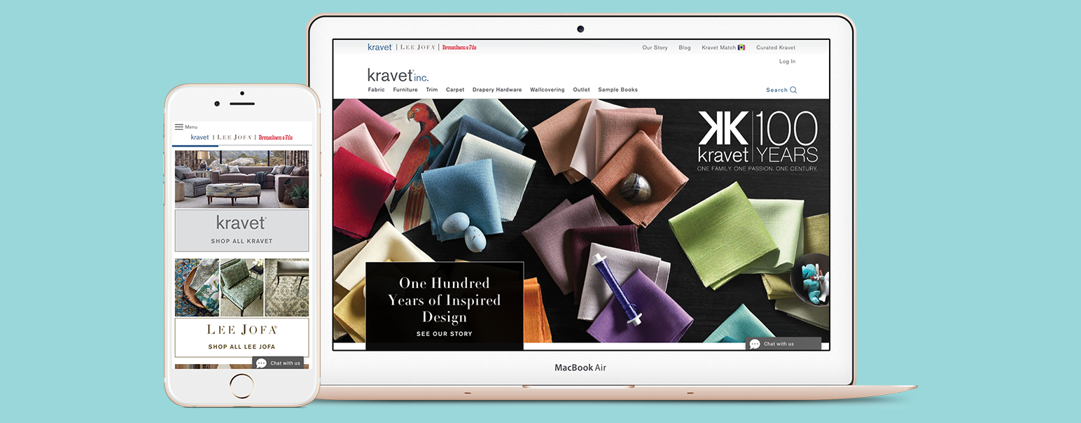 Kravet Inc Website