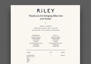 Riley Email Example